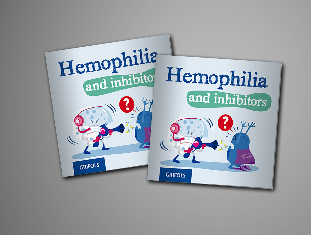 Folleto Hemophilia and inhibitors